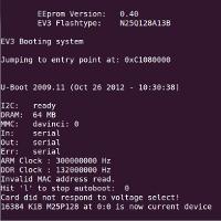 EV3 Console Linux